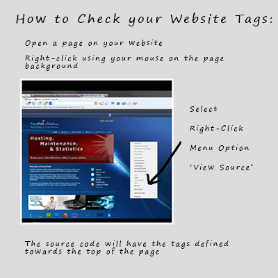 Check for Title and Description Meta Tags