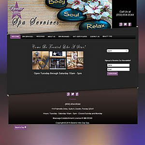 Website Design by Focal Point eSolutions on the Emerald Coast
