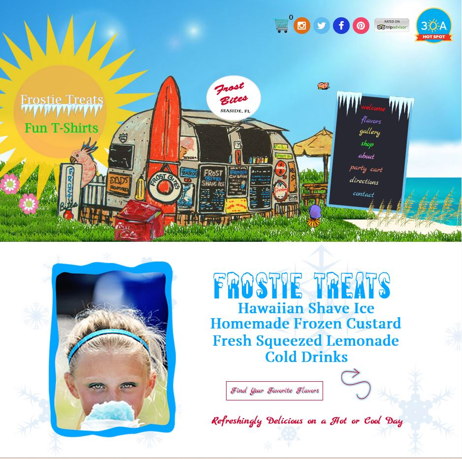 Frost Bites of Seaside FL