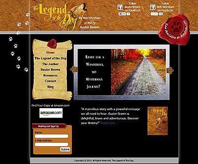 The Legend of the Dog - Niceville Web Design