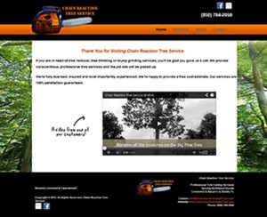 Chain Reaction Tree Service of Crestview, FL