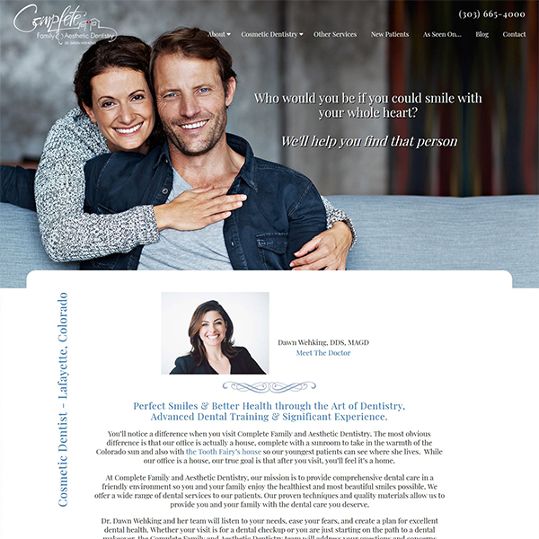 Complete Family & Aesthetic Dentistry of Lafayette, Colorado