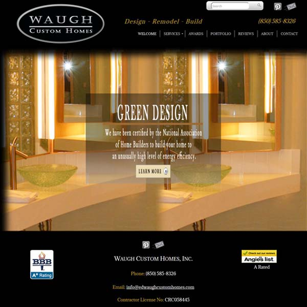 Waugh Custom Homes of Niceville, FL