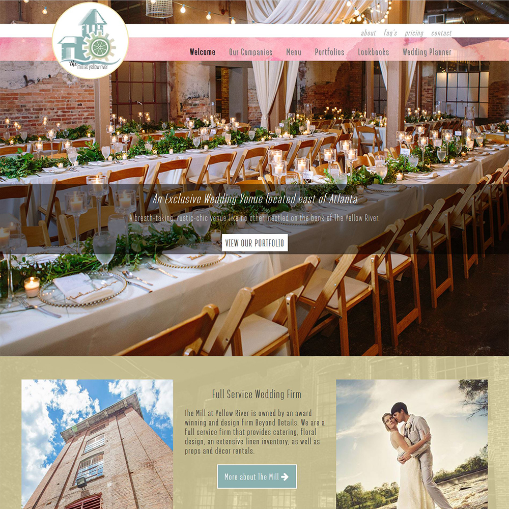 The Mill a Yellow River | Atlanta's Newest Wedding Venue