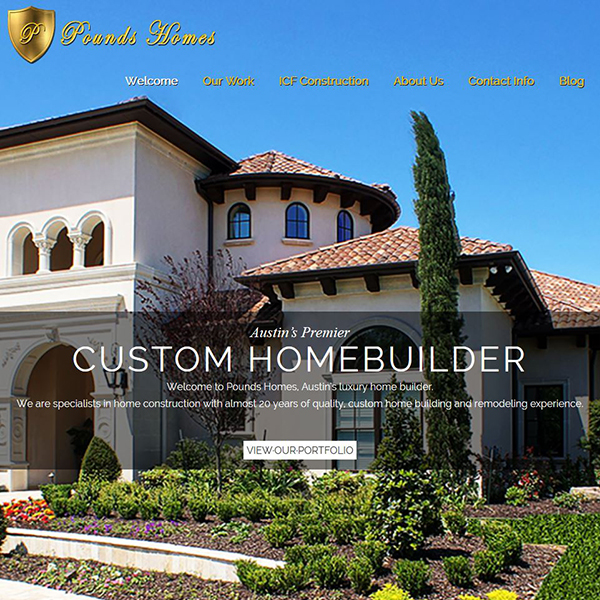 Pounds Homes - Austin's Premier Home Builder