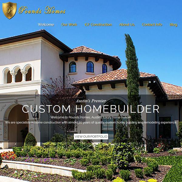 Pounds Homes - Austin's Premier Home Builder