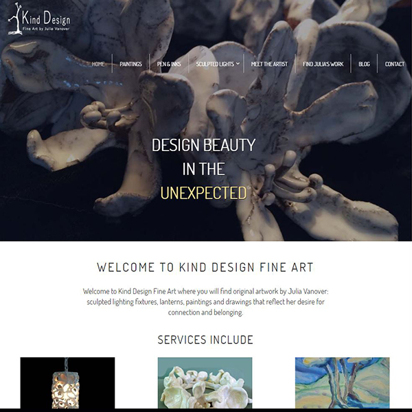 Kind Design Fine Art - Hand Sculpted Lighting, Original Paintings, Pen & Inks - Valparaiso, FL