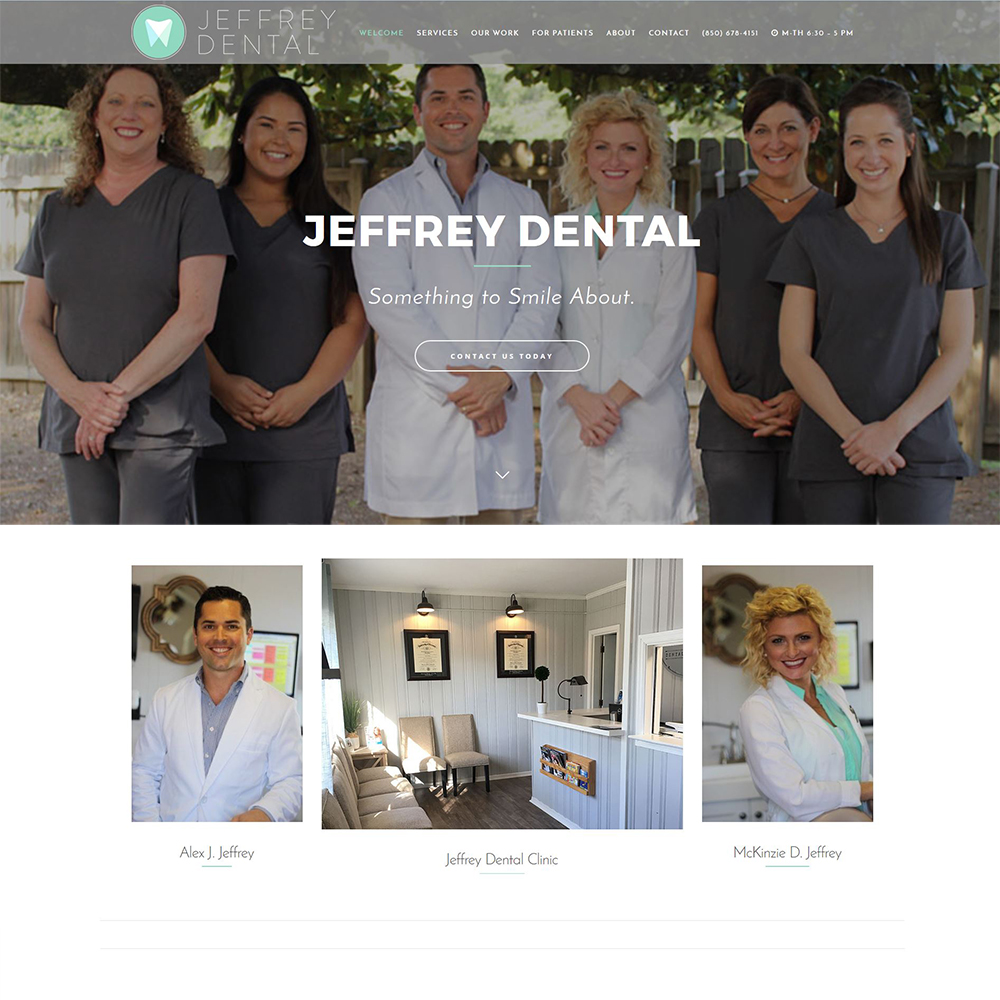 Jeffrey Dental Clinic - Family & Cosmetic Dentistry - Serving Niceville & Valparaiso, FL