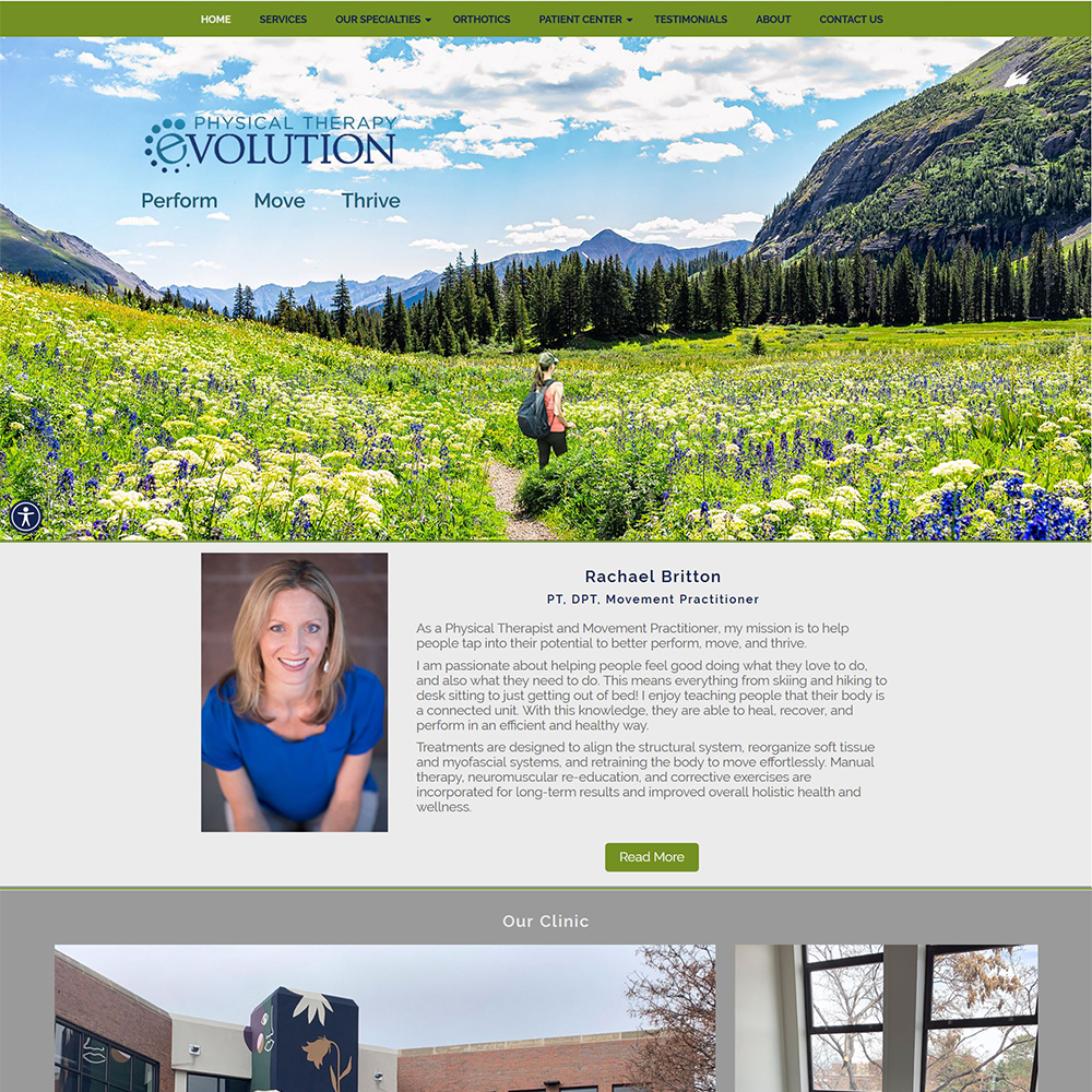 Physical Therapy Evolution - Physical & Manual Therapy Treatments - Serving the Denver area
