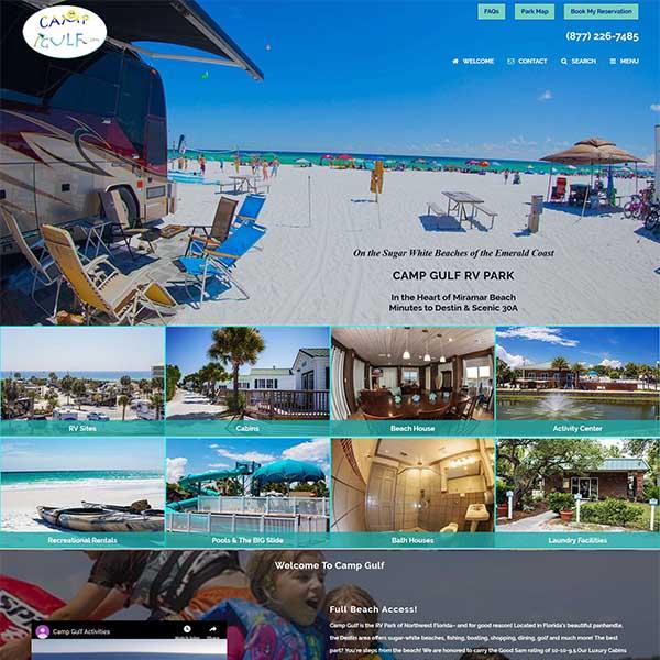 Camp Gulf Campground - Miramar Beach, FLBeachfront Camping - Close to Destin & Scenic 30A