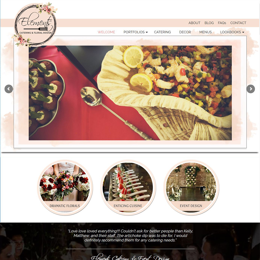 Elements Catering & Floral Design - Columbia, MS