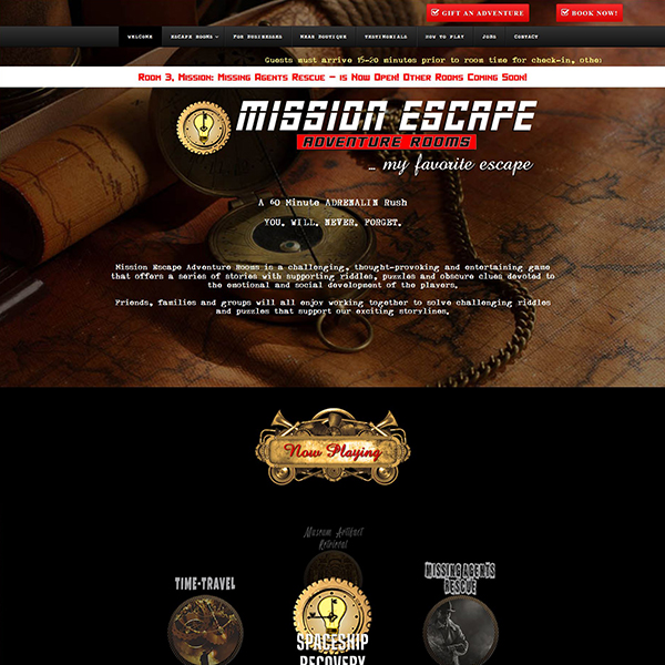 Mission Escape Adventure Rooms - Escape Adventures, Team-Building & Boutique - Niceville FL
