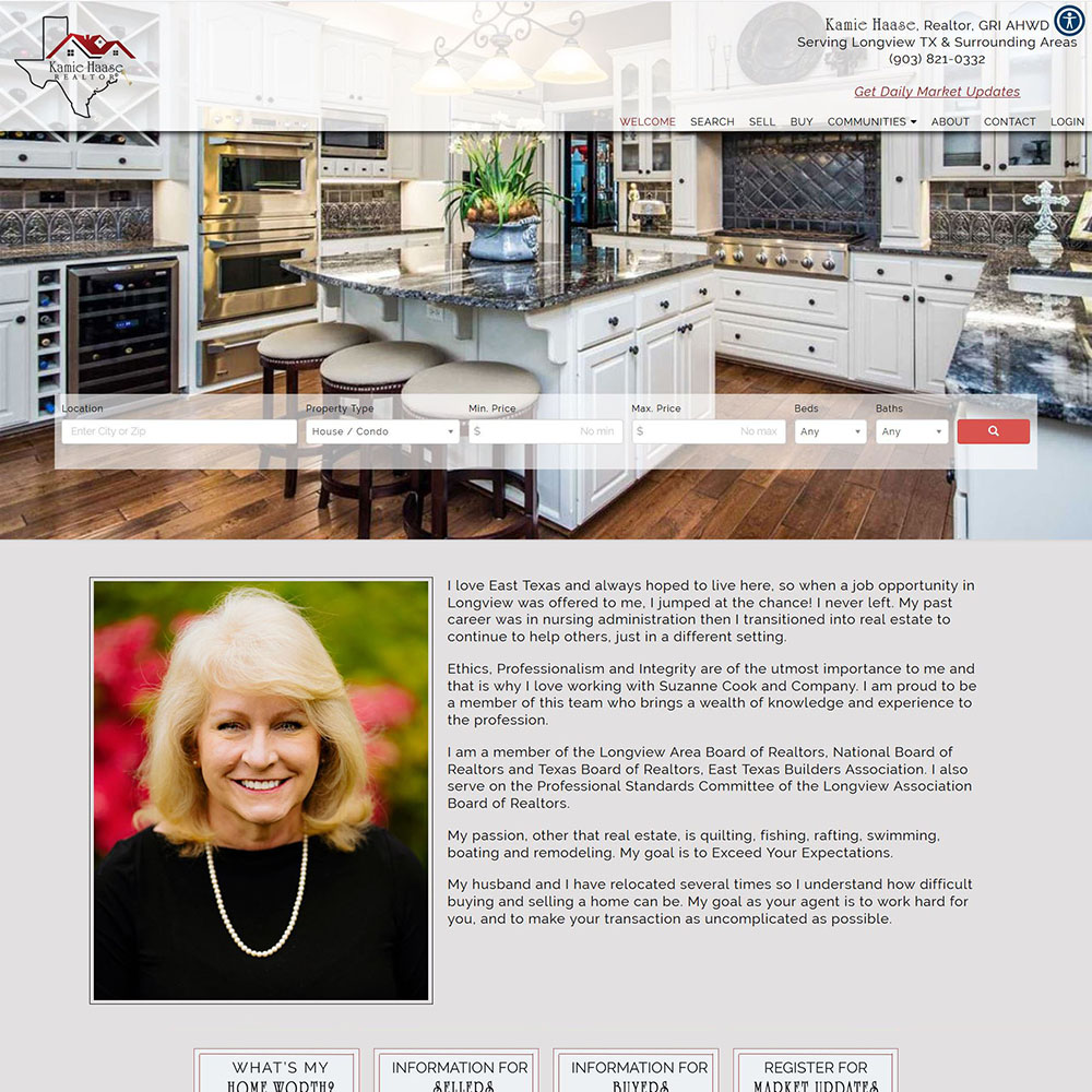 texas-real-estate-website-design-kamie-haase-realtor
