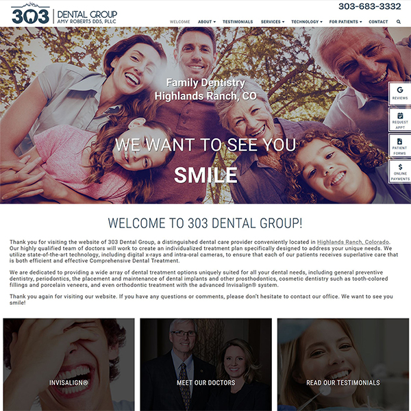 303 Dental Group-Family Dentistry-Highlands Ranch, CO