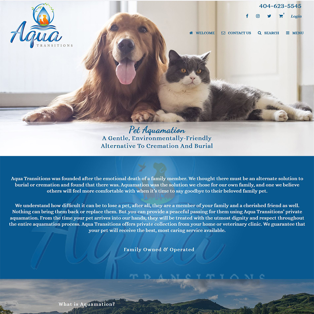 Aqua Transitions-Pet Aquamation - A Better Alternative to Pet Cremation-Dunwoody, GA