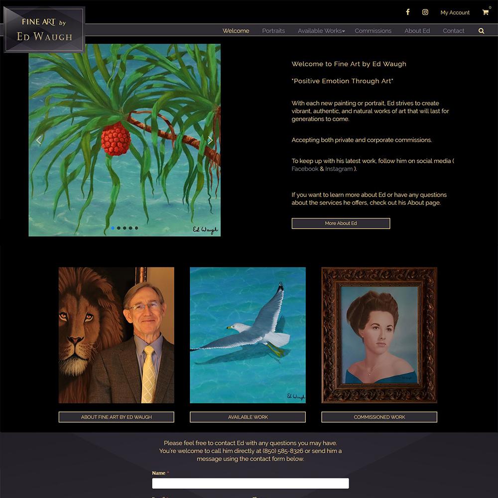 Fine Art by Ed Waugh - Oil & Portrait Paintings - Niceville FL