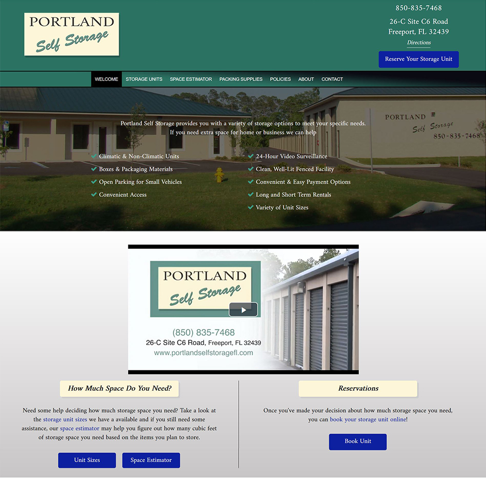 Portland Self Storage - Climatic & Non-Climatic Units - Freeport, FL
